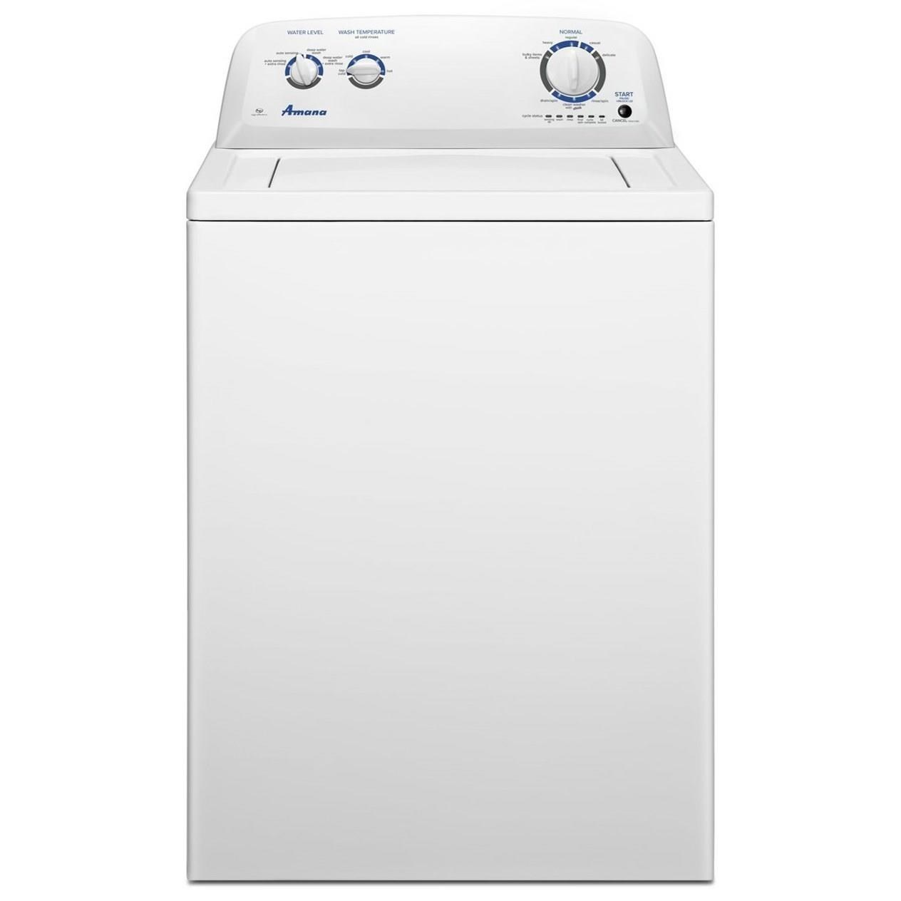 Amana Amana 3 5 Cu Ft Top Load Washer With Dual Action