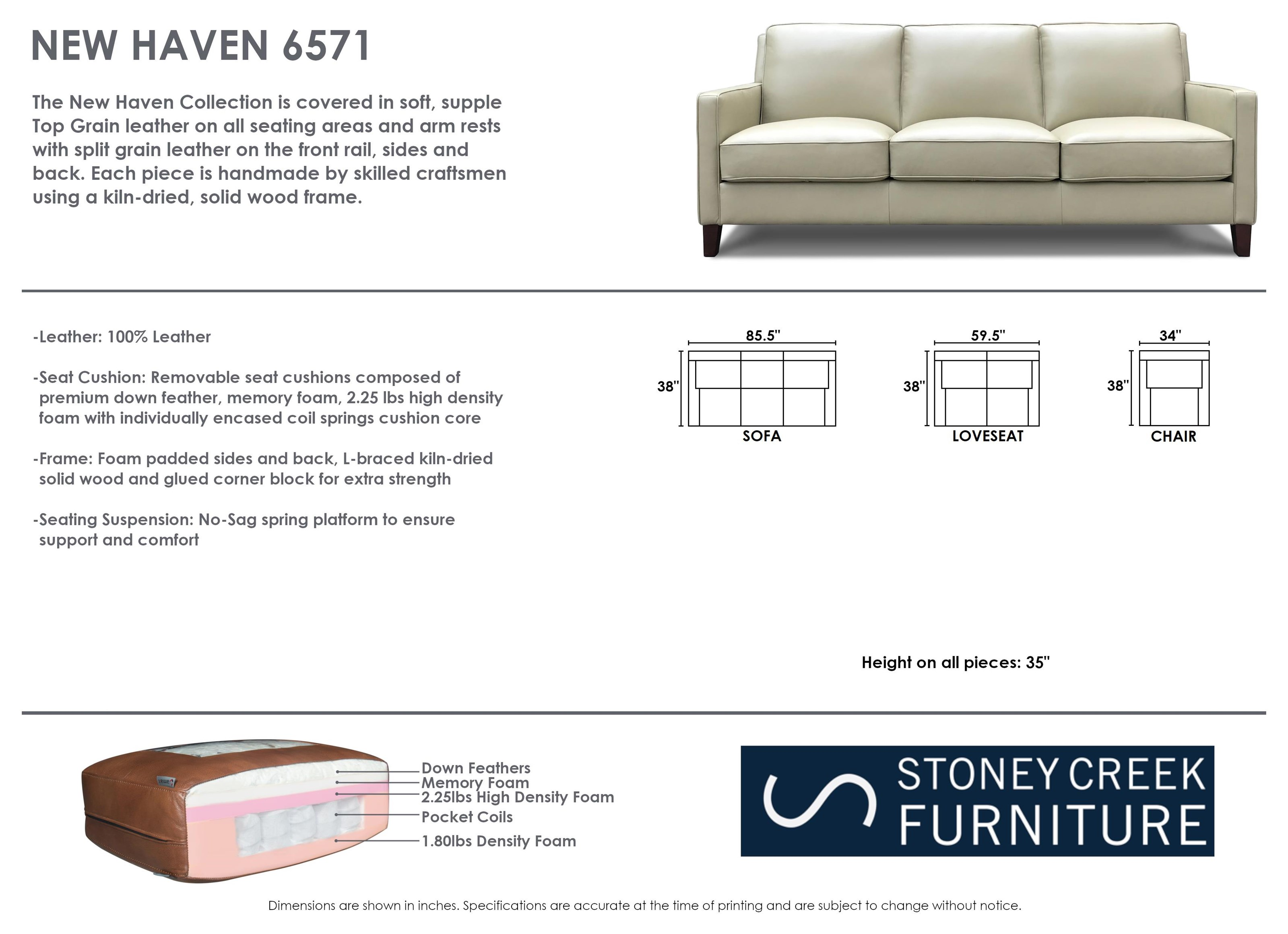 Dd New Haven Sofa
