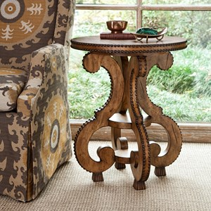 Accent Tables Studded Accent Table by Ambella Home Collection