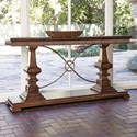 Ambella Home Collection Accent Tables Woodford Console Table - Item Number: 24030-850-001