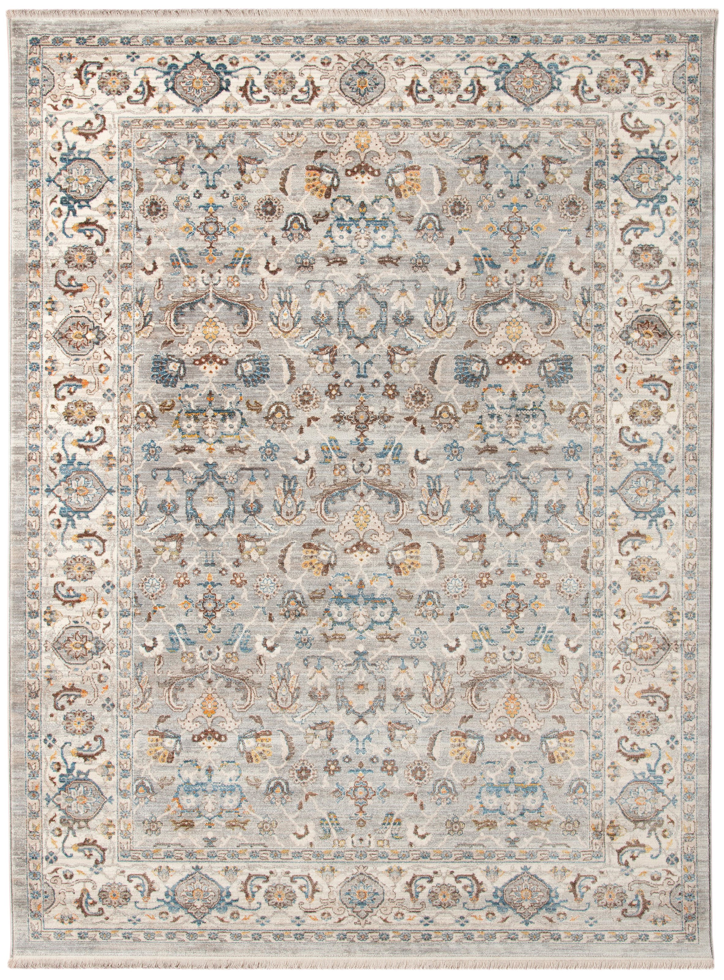 Arcadia Gray Ivory Transitional by Amer Rugs at Sprintz Furniture
