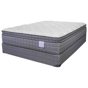 """American Bedding Company Lilly Pillow Top King 13"""" Pillow Top Mattress"""