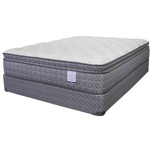 """American Bedding Company Lilly Pillow Top Queen 13"""" Pillow Top Mattress Set"""