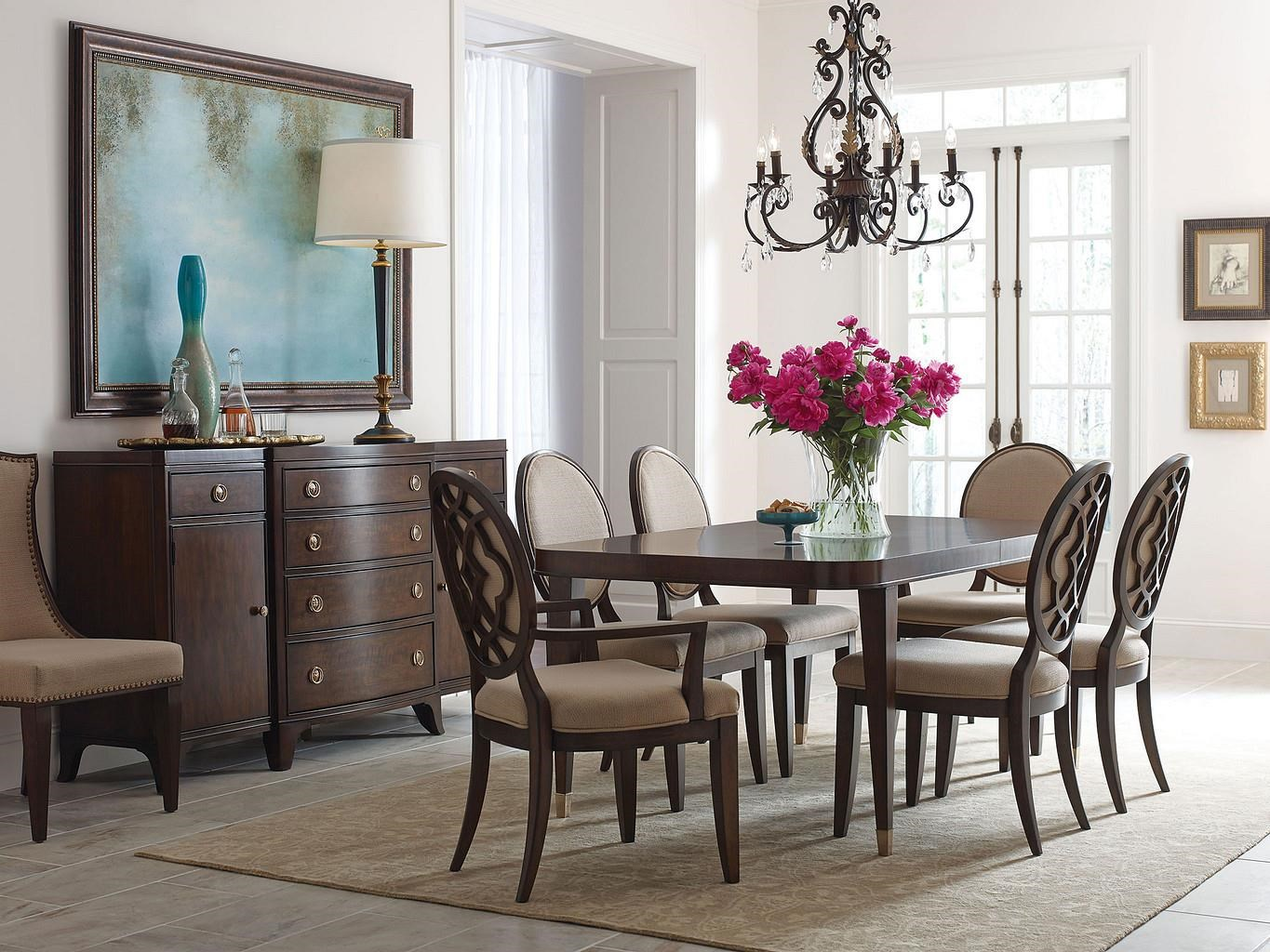 512 Grantham Hall 7 Piece Dining set by American Drew at Stoney Creek Furniture