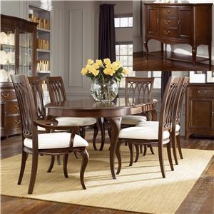 American Drew Cherry Grove 8Pc Dining Room