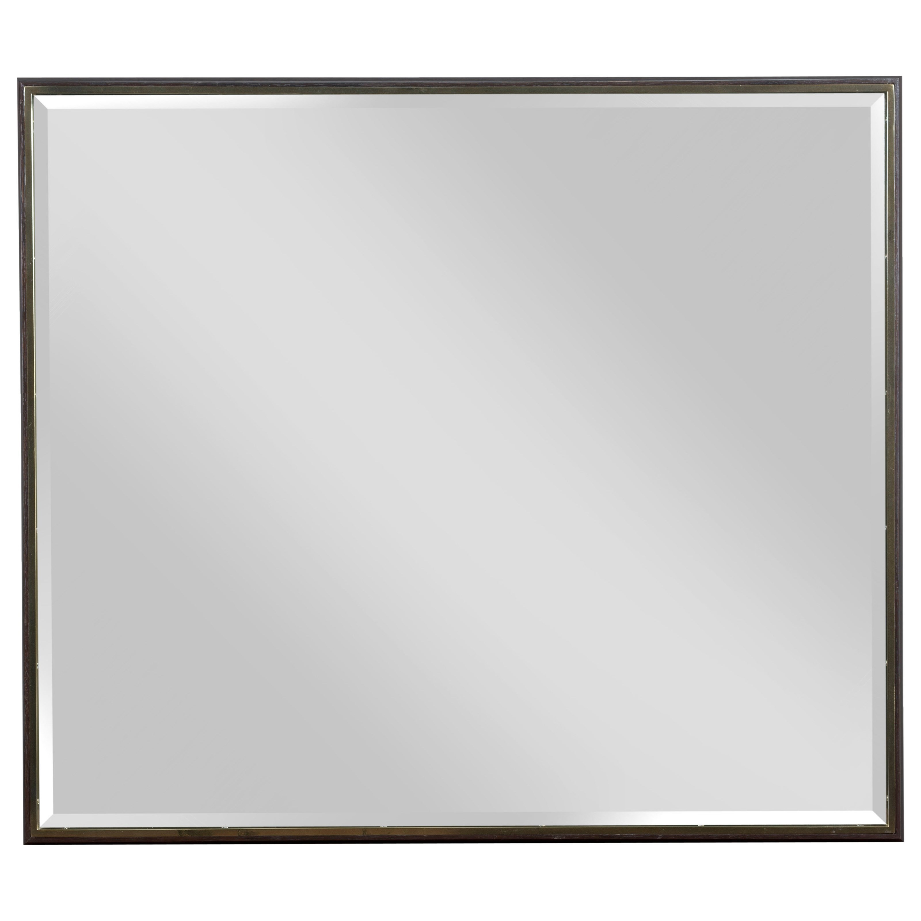 Ad Modern Organics Holt Landscape Mirror by American Drew at Alison Craig Home Furnishings