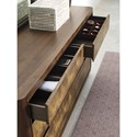 American Drew Ad Modern Organics Howard Six Drawer Dresser with Jewelry Tray