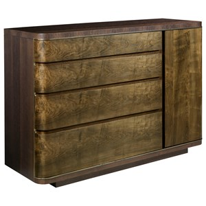 American Drew Ad Modern Organics Spencer Drawer Door Dresser