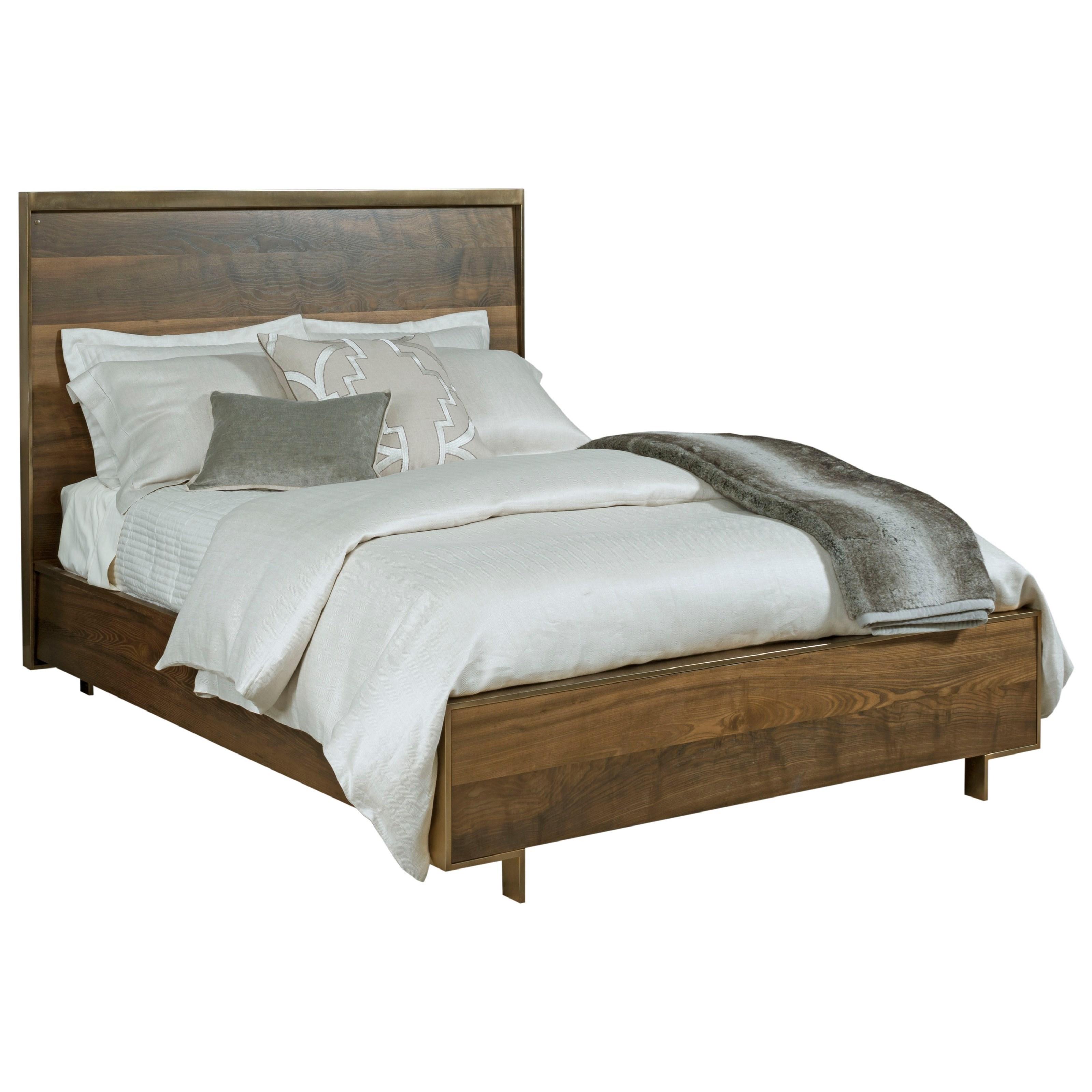 Queen Luna Panel bed