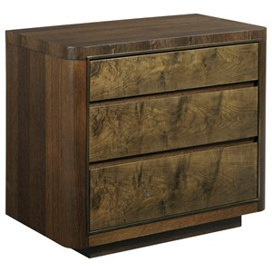 American Drew Ad Modern Organics Hays Three Drawer Nightstand