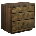 American Drew Ad Modern Organics Hays Three Drawer Nightstand - Item Number: 600-420