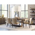 American Drew Ad Modern Organics Bandon Rectangular Dining Table with Two 20