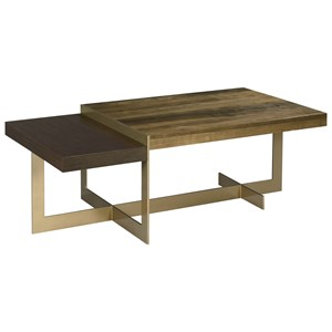 Living Trends Ad Modern Organics Ogden Rectangular Cocktail Table