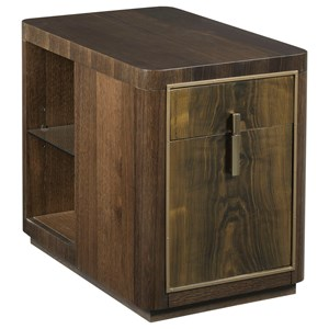 American Drew Ad Modern Organics Kern Drawer End Table