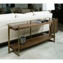 American Drew Ad Modern Organics Timothy Console Table with Shelf