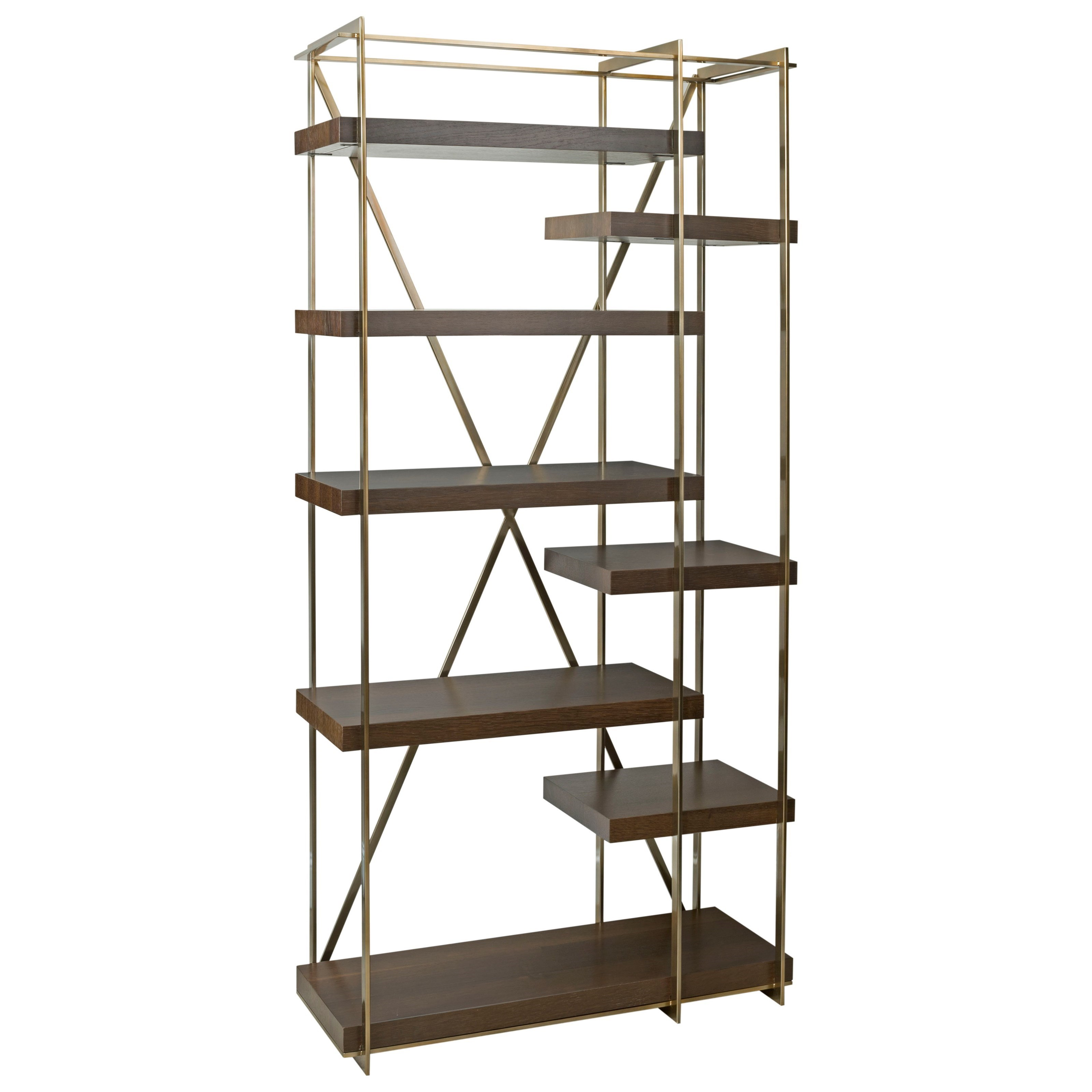 American Drew Ad Modern Organics Cowley Etagere - Item Number: 600-939