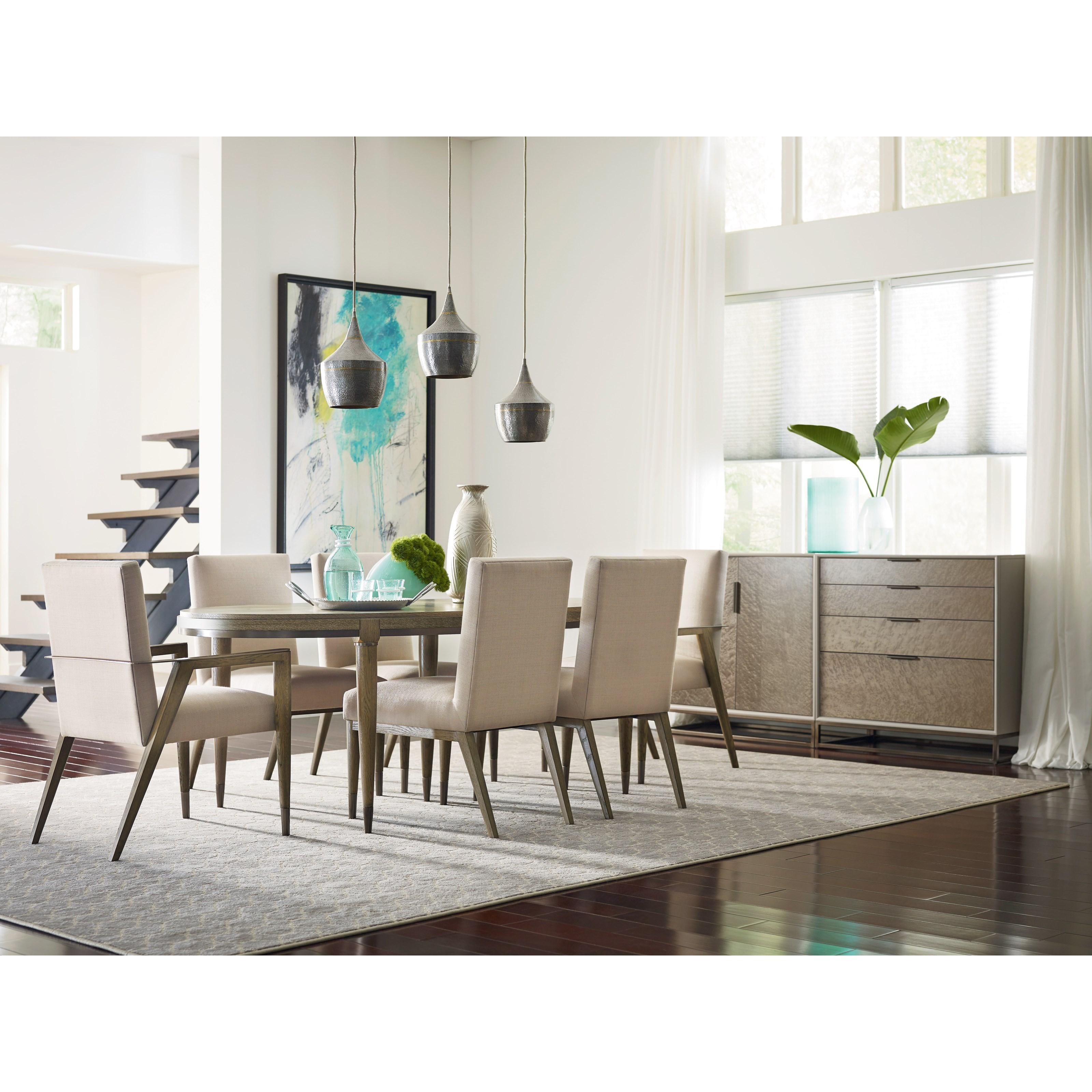 American Drew Ad Modern Classics Formal Dining Room Group - Item Number: 603 Dining Room Group 1