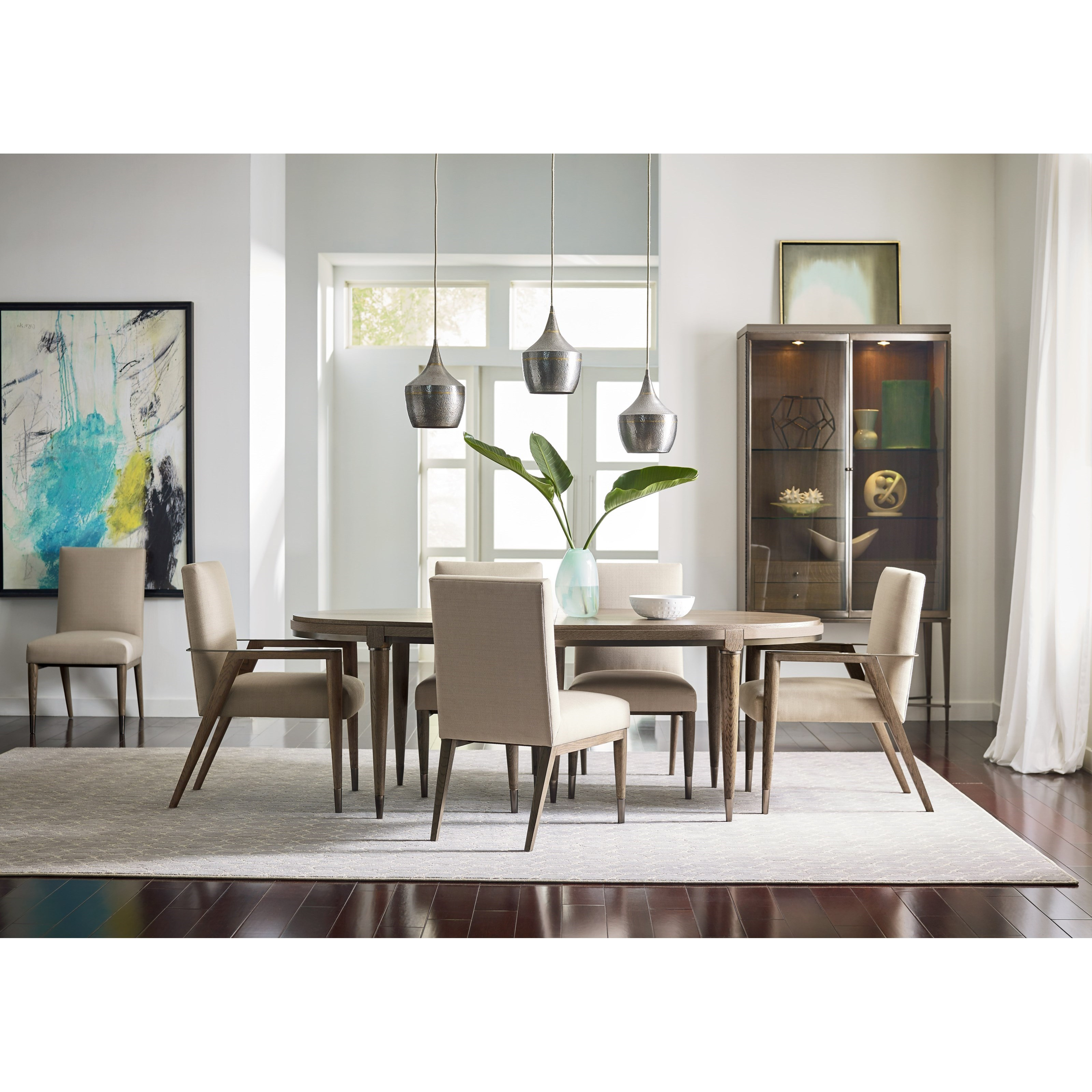 Modern Traditional Dining Room: American Drew Ad Modern Classics Mid-Century Modern Formal
