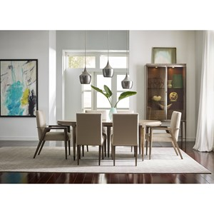 American Drew Ad Modern Classics Formal Dining Room Group