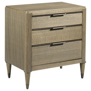 American Drew Ad Modern Classics Aiken Three Drawer Night Stand