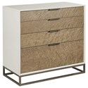 American Drew Ad Modern Classics Edwards Drawer Bunching Chest - Item Number: 603-590