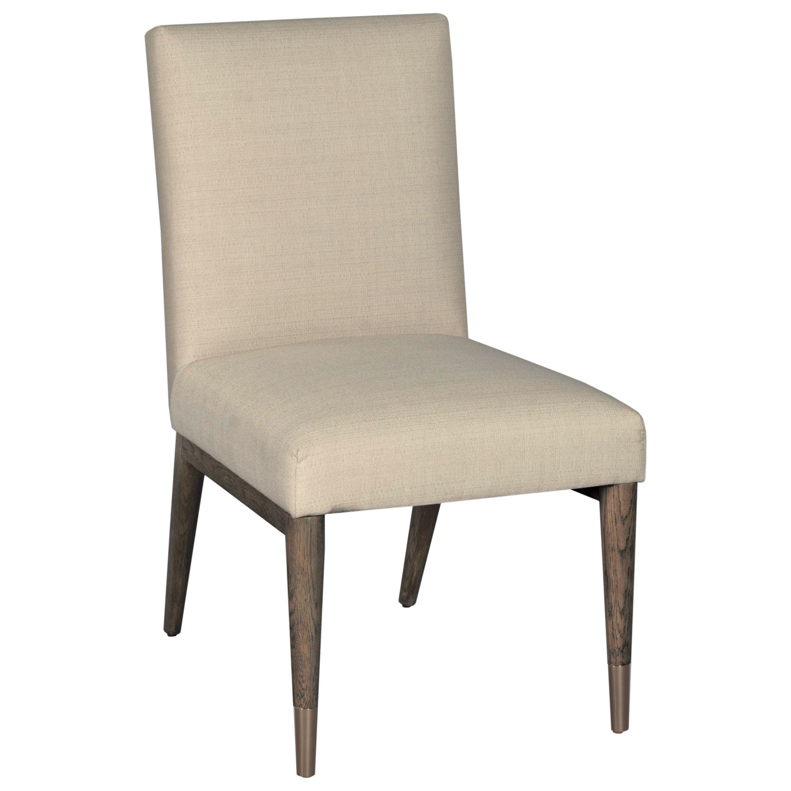 American Drew Ad Modern Classics Upholstered Shelby Dining Side Chair - Item Number: 603-636