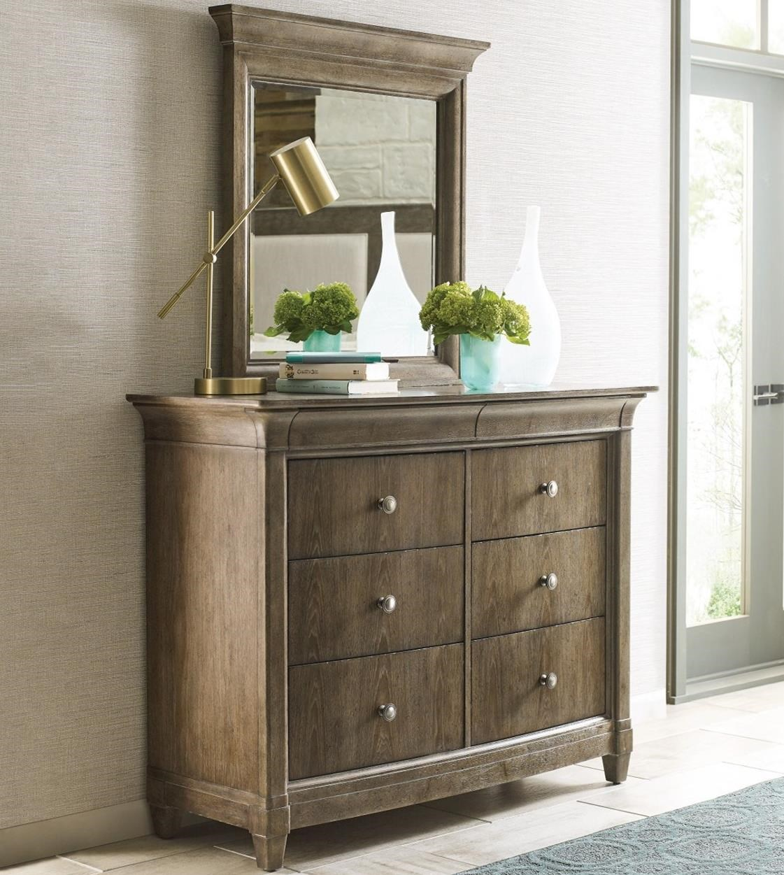 Anson Dresser + Mirror Set by American Drew at Value City Furniture