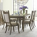 American Drew Anson 7 Pc Dining Set - Item Number: 927-744+2X636+4X637