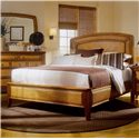 American Drew Antigua Queen Platform Bed - 931-333R - Bed Shown May Not Represent Size Indicated