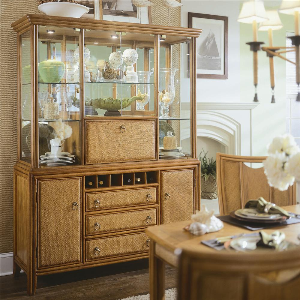 Antigua Complete China Cabinet By American Drew