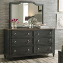 American Drew Ardennes Dresser and Mirror Set - Item Number: 848-130+040