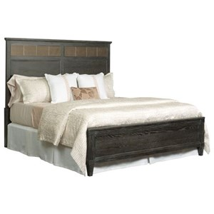 Ardennes Sambre Panel California King Bed with Reversible Headboard Panel by American Drew
