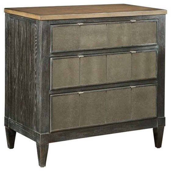 Ardennes Liano Nightstand by American Drew at Northeast Factory Direct