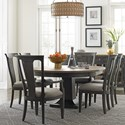 American Drew Ardennes Dining Table and Chair Set  - Item Number: 848-701R+4x636+2x637