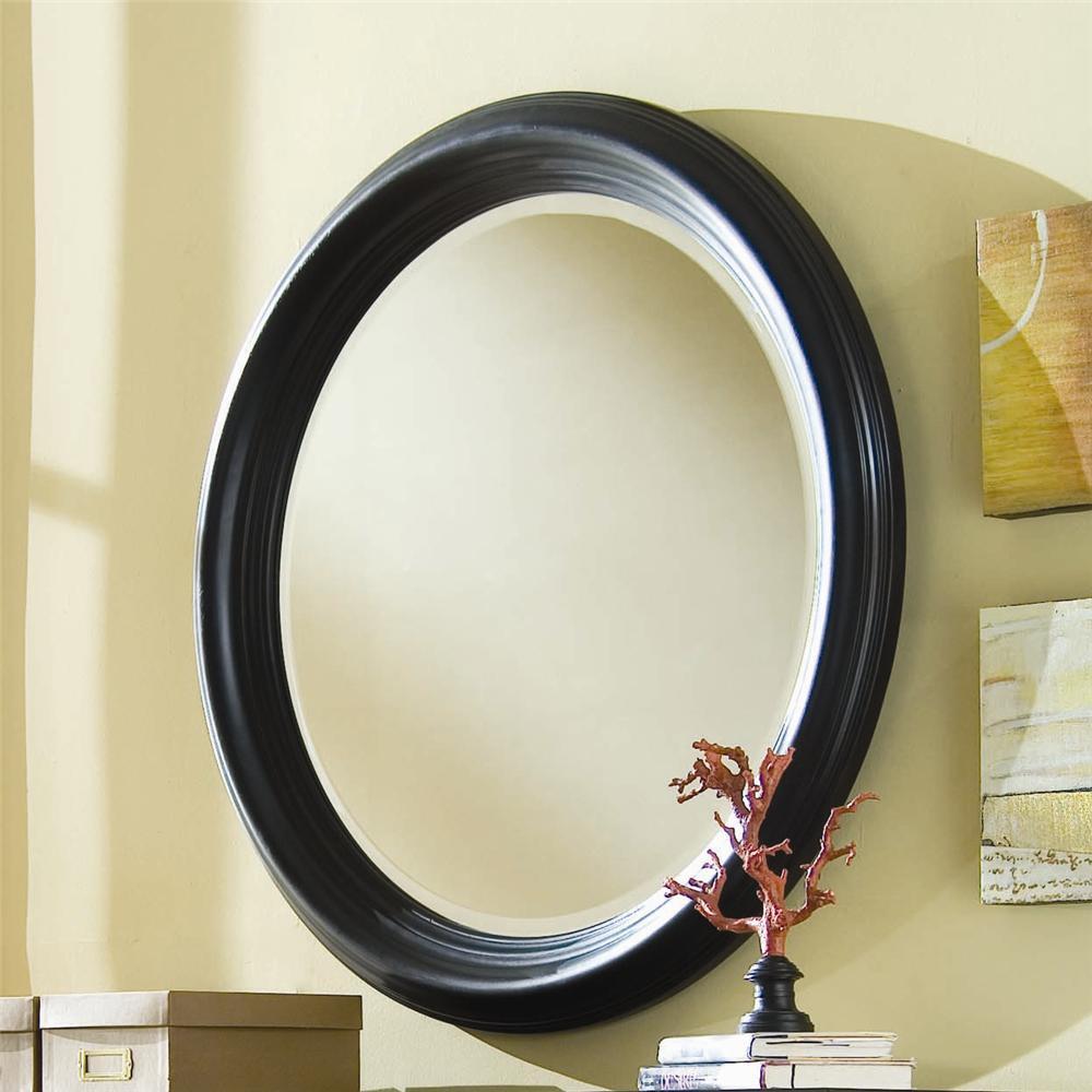 American Drew Camden - Dark Round Mirror - Item Number: 919-015
