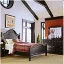 American Drew Camden - Dark King Panel Bed - 919-316R - Panel Bed Shown with Dresser - Bed Shown May Not Represent Size Indicated