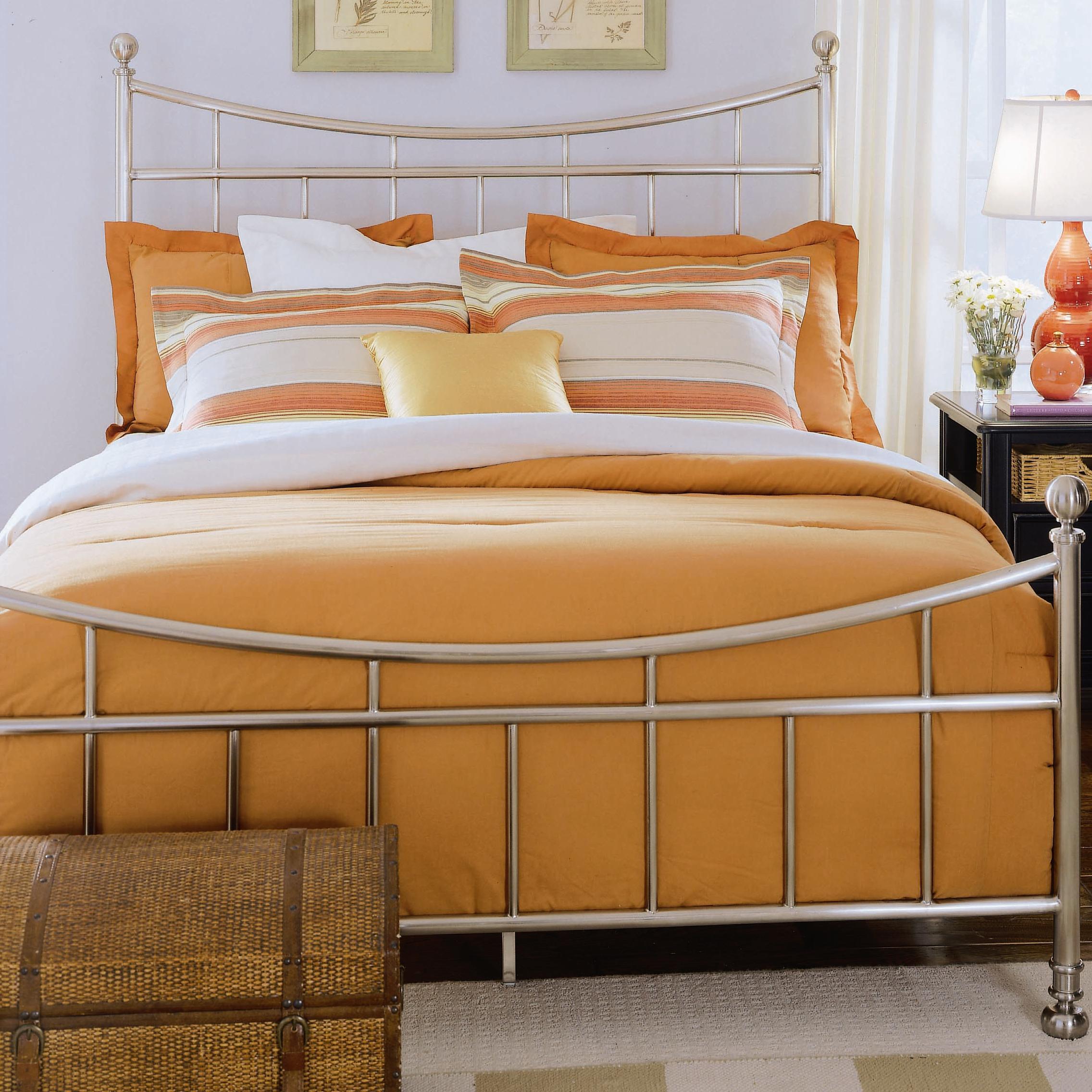 American Drew Camden - Dark Full Metal Bed  - Item Number: 919-393NR