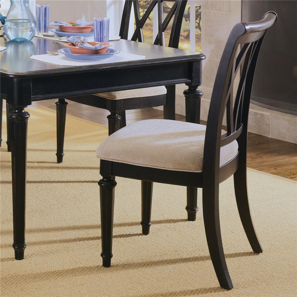 American Drew Camden - Dark Splat Back Side Chair - Item Number: 919-636