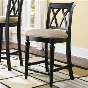 American Drew Camden - Dark Bar Stool