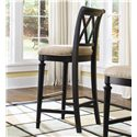 American Drew Camden - Dark Bar Stool Bar Height - Item Number: 919-691