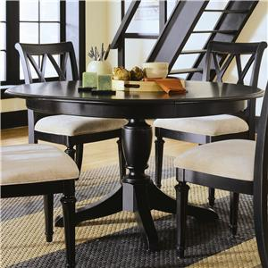 American Drew Camden - Dark Round Table