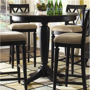 "American Drew Camden - Dark 42"" Round Bar Height Table"