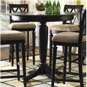 "American Drew Camden - Dark 42"" Round Bar Height Table - Item Number: 919-706+B03"