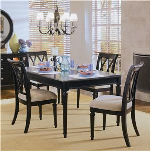 American Drew Camden - Dark 5-Piece Dining Set
