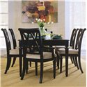 American Drew Camden - Dark Leg Table - Item Number: 919-760