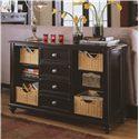 American Drew Camden - Dark Sofa Table - Item Number: 919-925