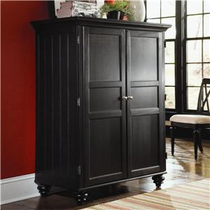 American Drew Camden - Dark Home Office Cabinet