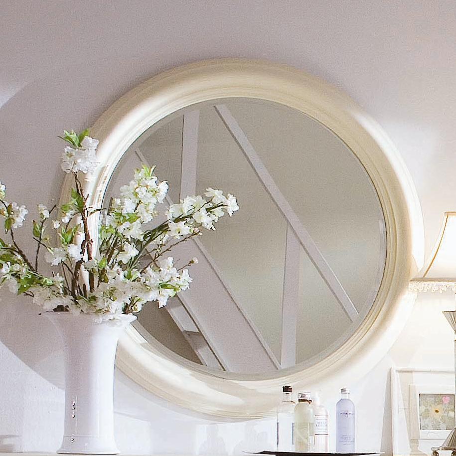 American Drew Camden - Light Round Mirror - Item Number: 920-015