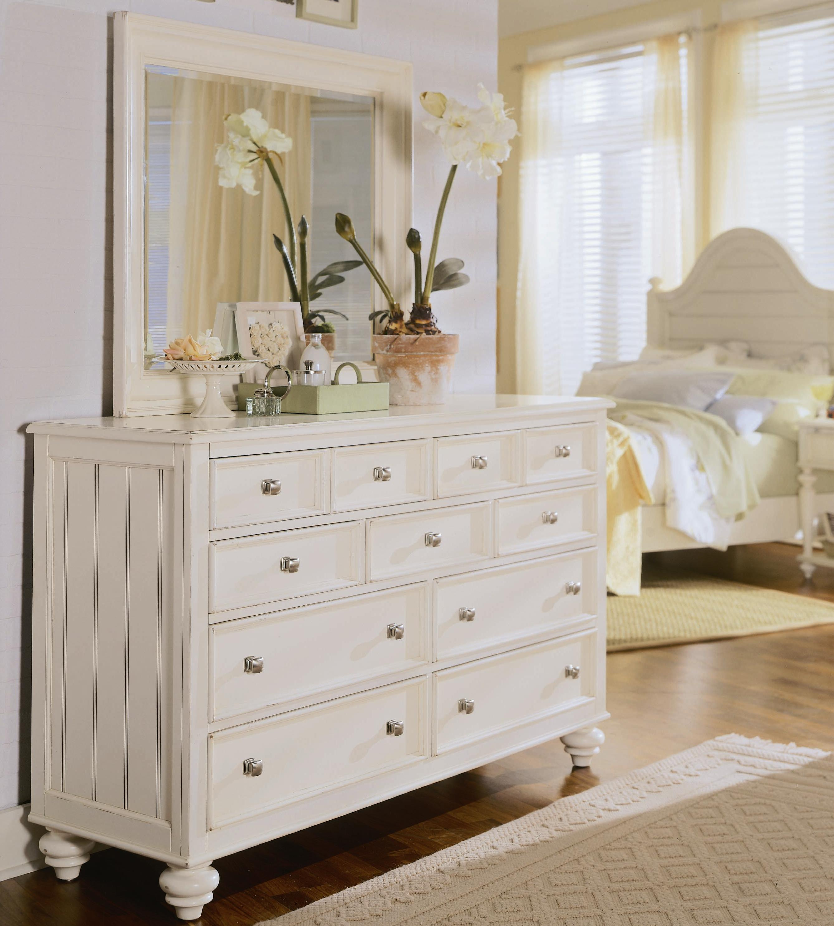 American Drew Camden - Light Chest and Mirror - Item Number: 920-220+020+M71