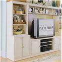American Drew Camden - Light Bookcase w/ 3 Shelves - 920-580+581